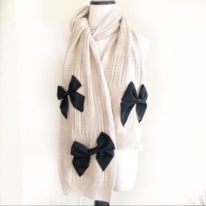 Kate spade wool knit sweater scarf